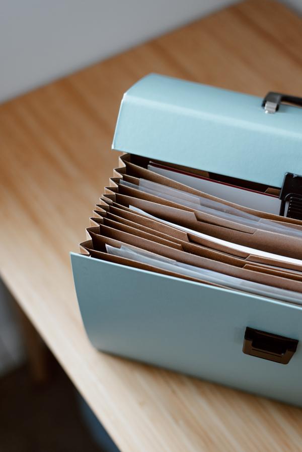 Malette de classement de documents