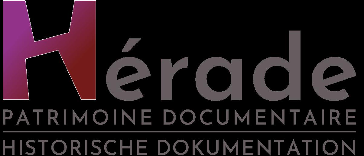 Le logo de la socitété Hérade en vectoriel